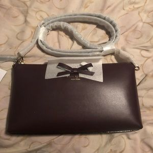 Kate Spade Sawyer Street Declan Purse in Mahogany